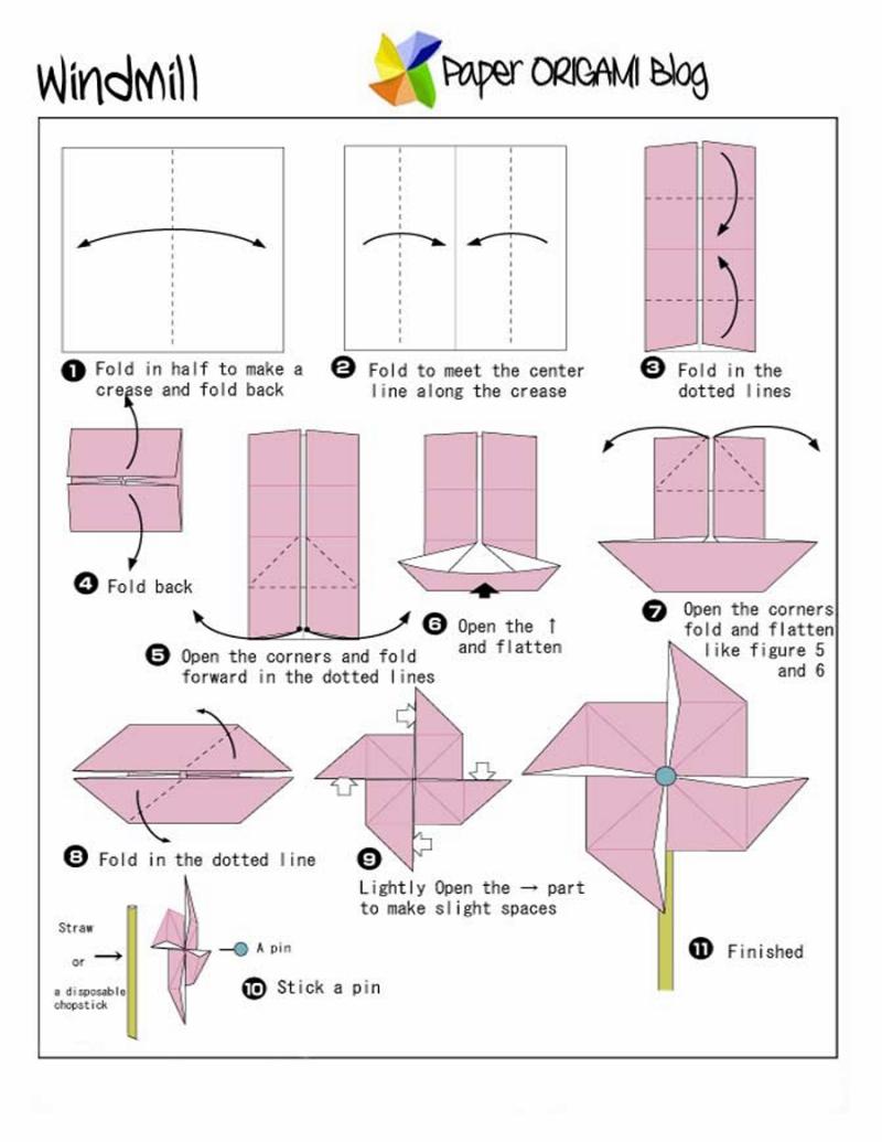 Windmill+Origami