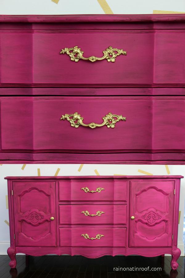 Velvet-finishes-dresser-makeover