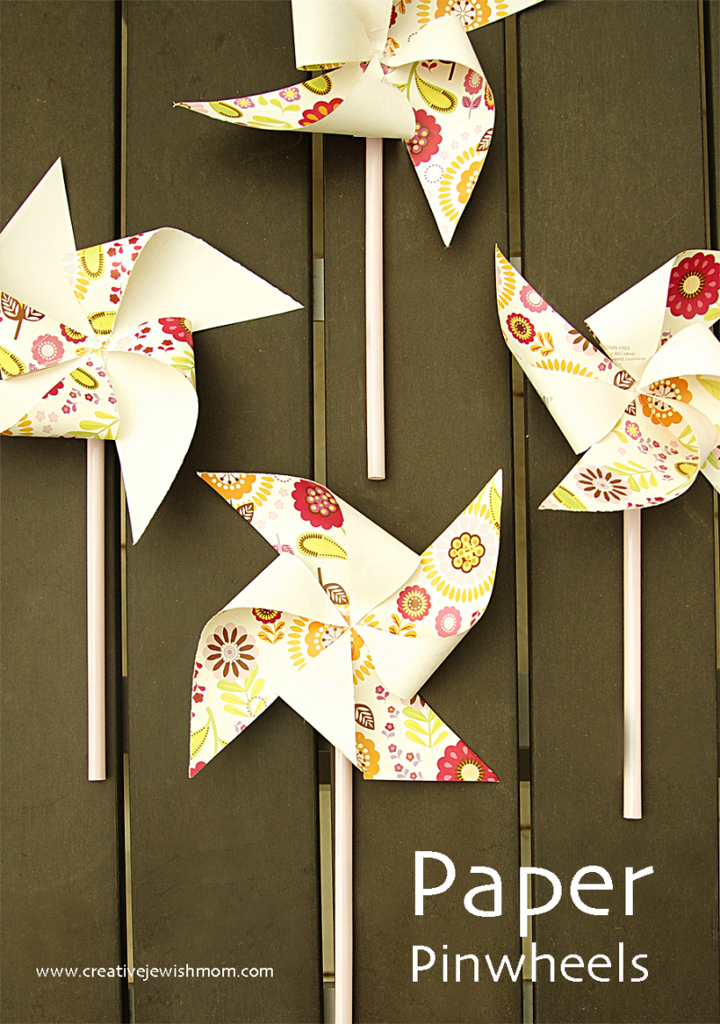 Simple-paper-pinwheels