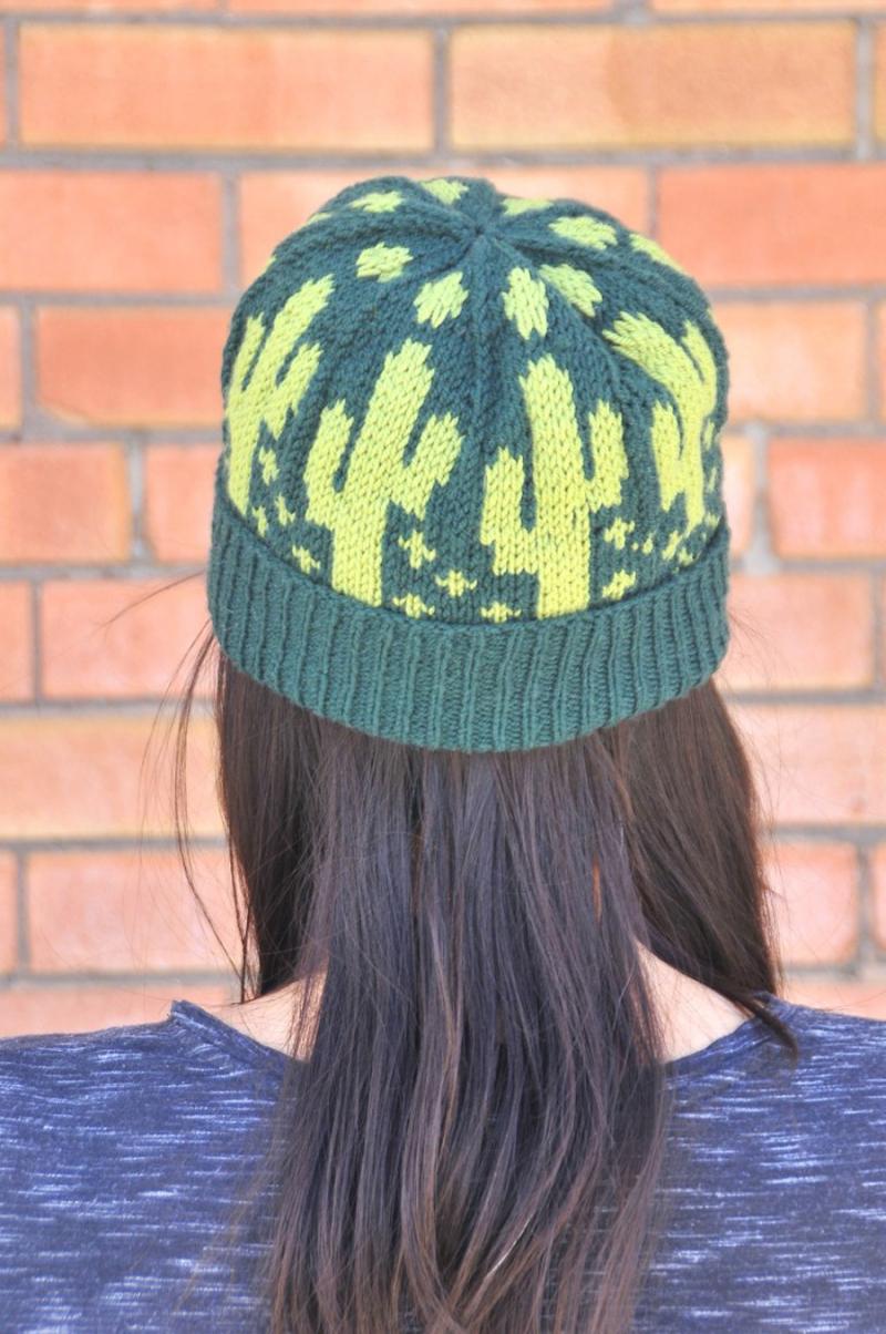 Knit-cactus-hat