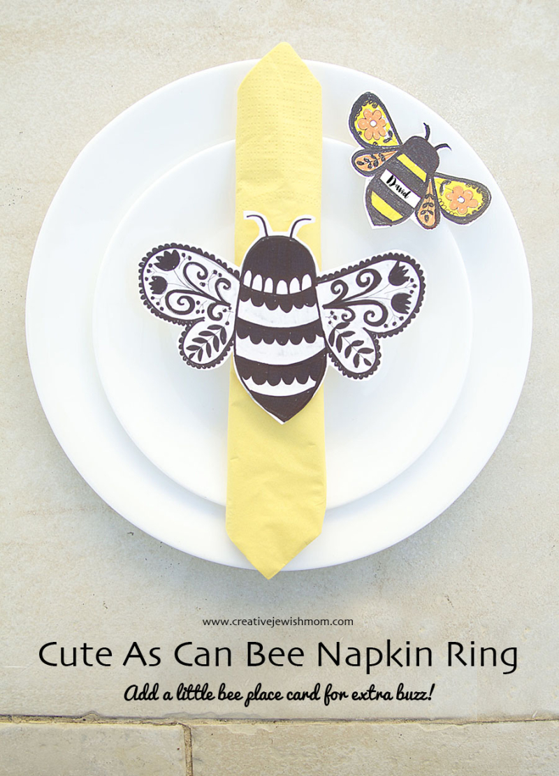 Bee-Napkin-Ring-Simple