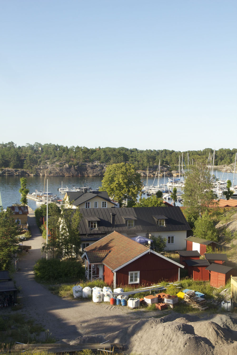 Sanhamn-Sweden-view-from-hill