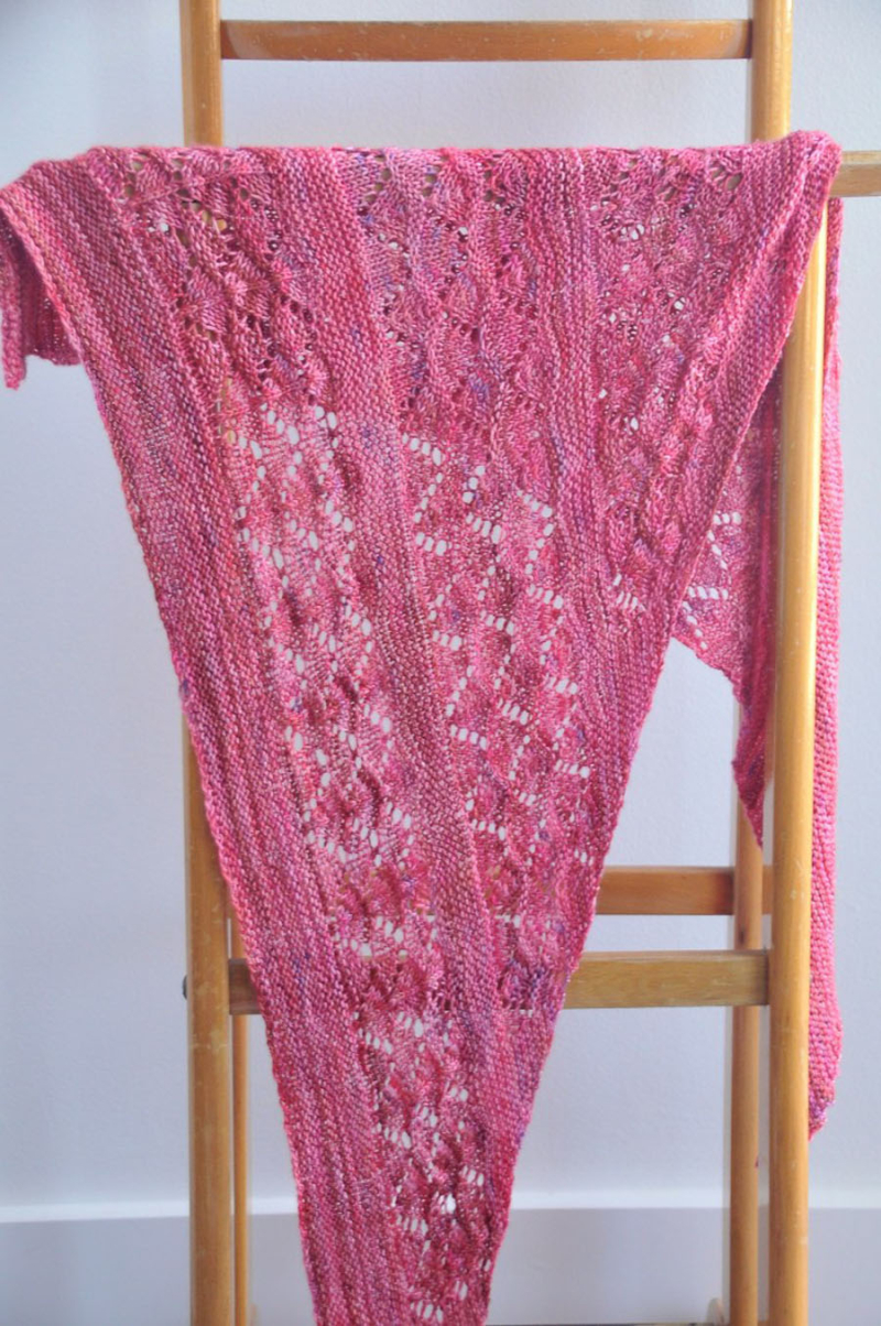 Garter-and-Lace-knit-Shawl