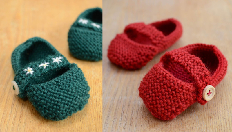 Knit-baby-maryjane-booties