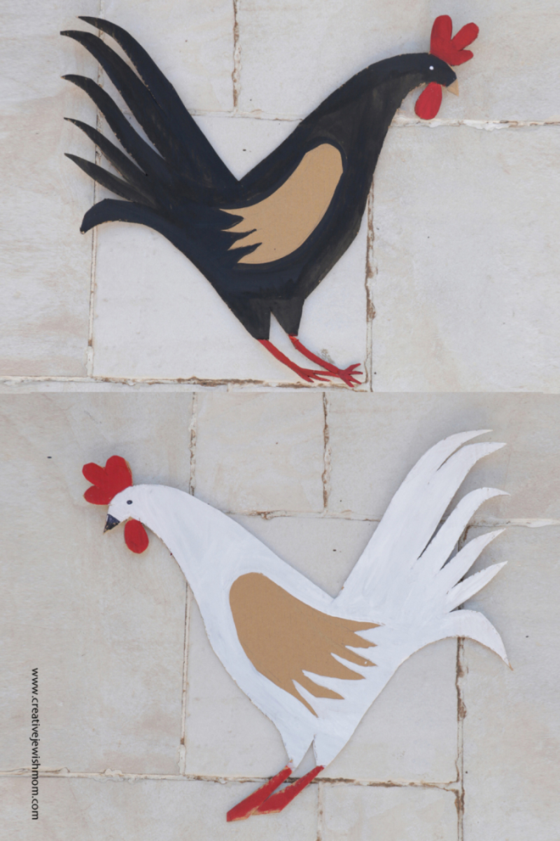 Carboard-chickens-craft