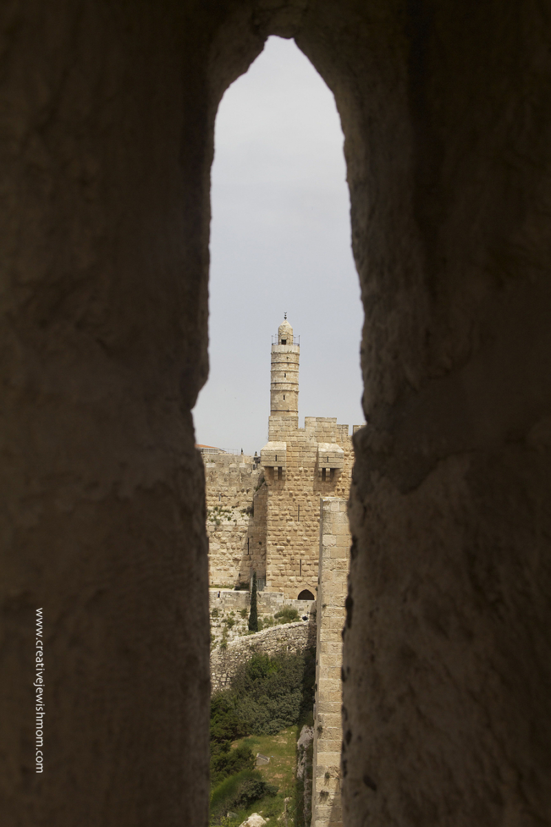 Jerusalem-Old-city-wall-walk