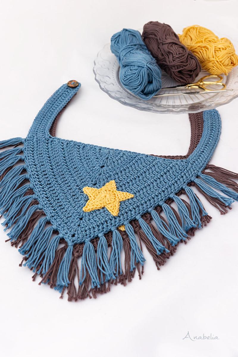 Crochet-Baby-Bandana