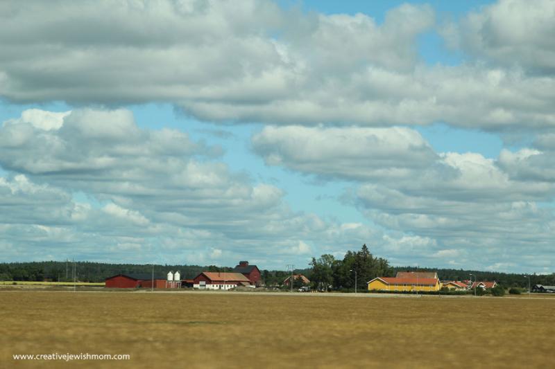 Swedish-farm-buildings