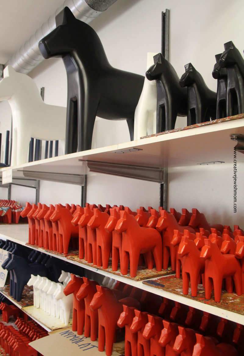 Sweden-wooden-horse-factory-unpainted-horses
