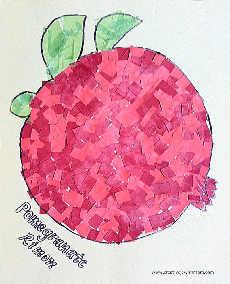 Paper-mosaic-kid's-craft