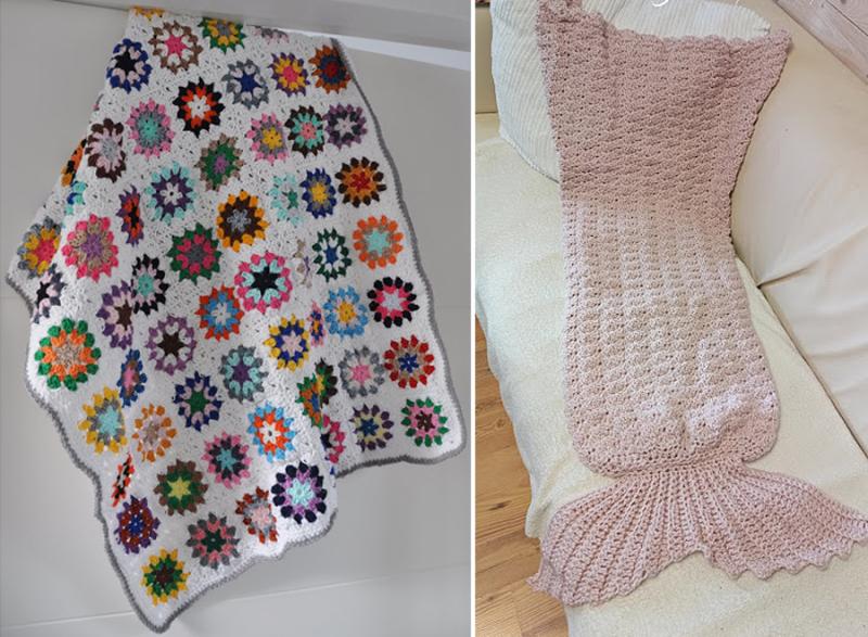 Crocheted-Colorful-mandala