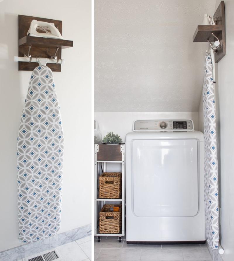 Diy-wood-iron-and-ironing-board-shelf