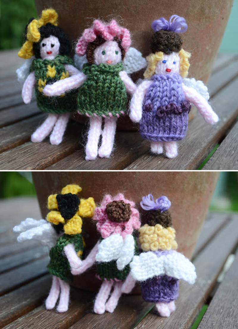 Knit-fairies-with-hats