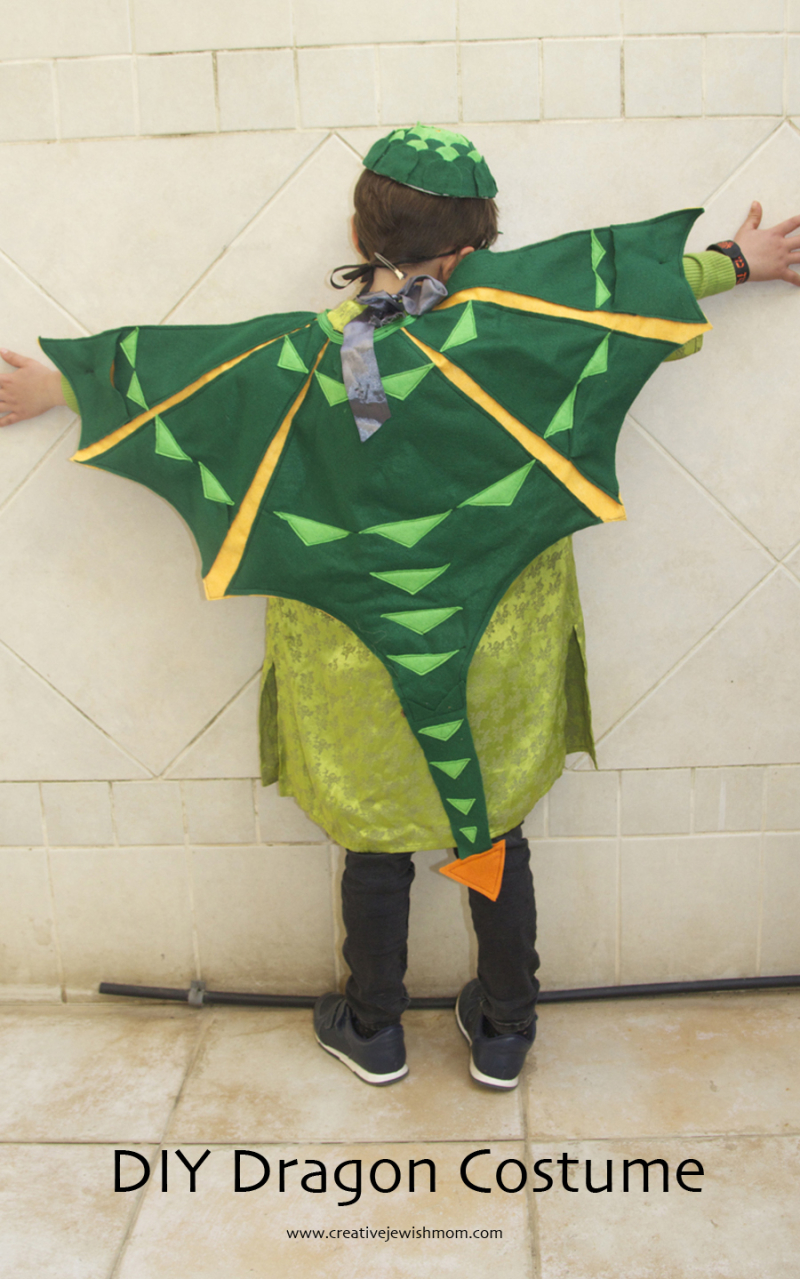 DIY-Dragon-Costume-Child