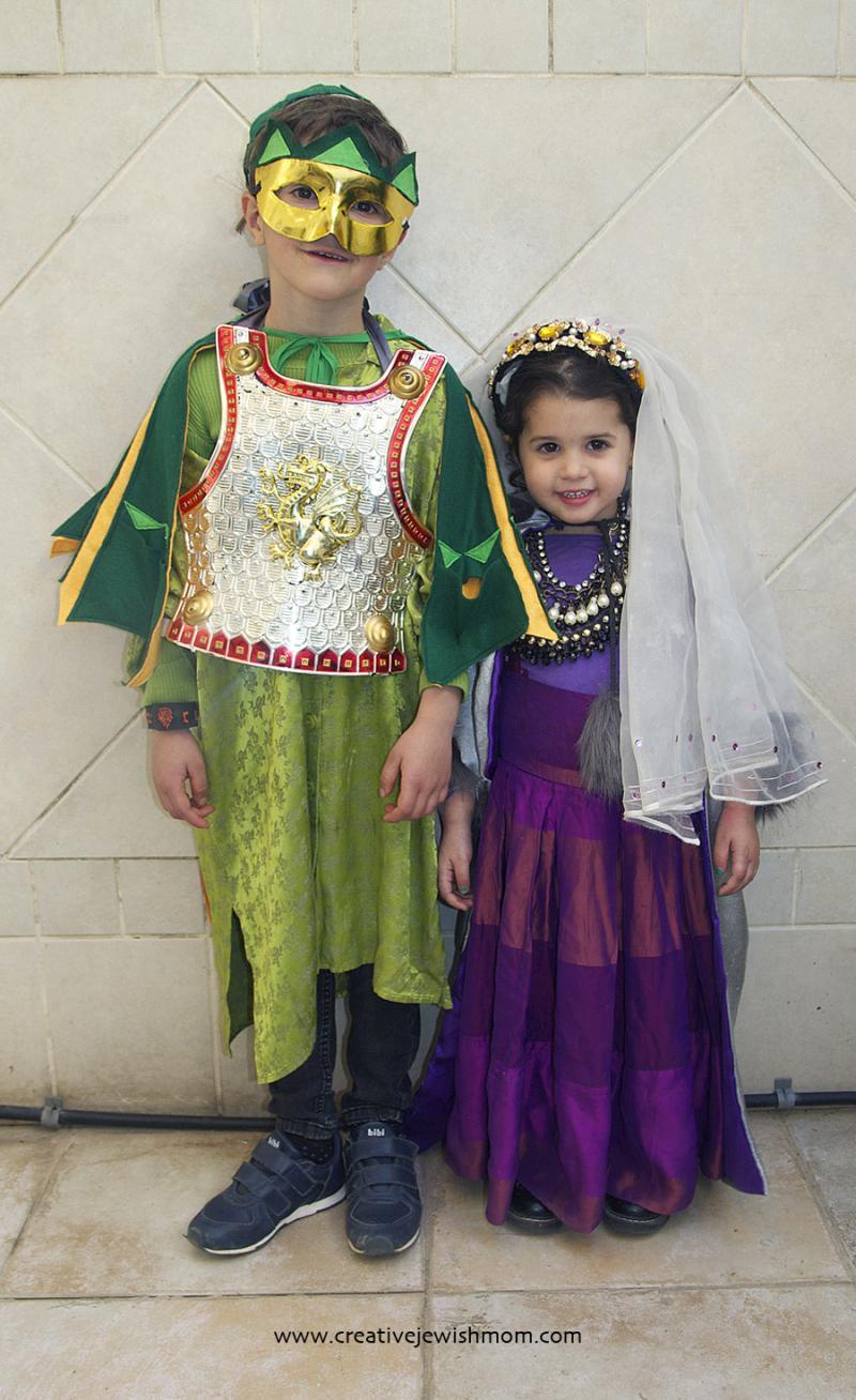 Dragon-and-princess-costumes