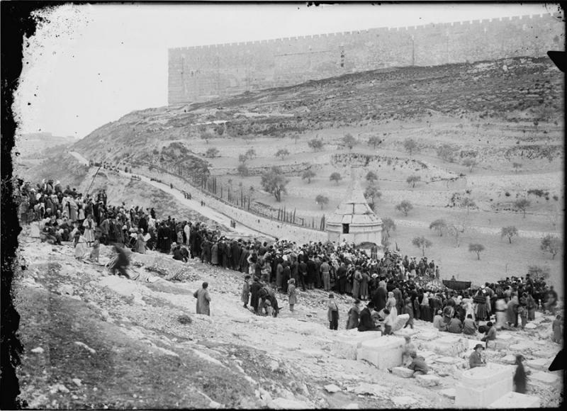 Old-photo-israel-avshalom's-tomb