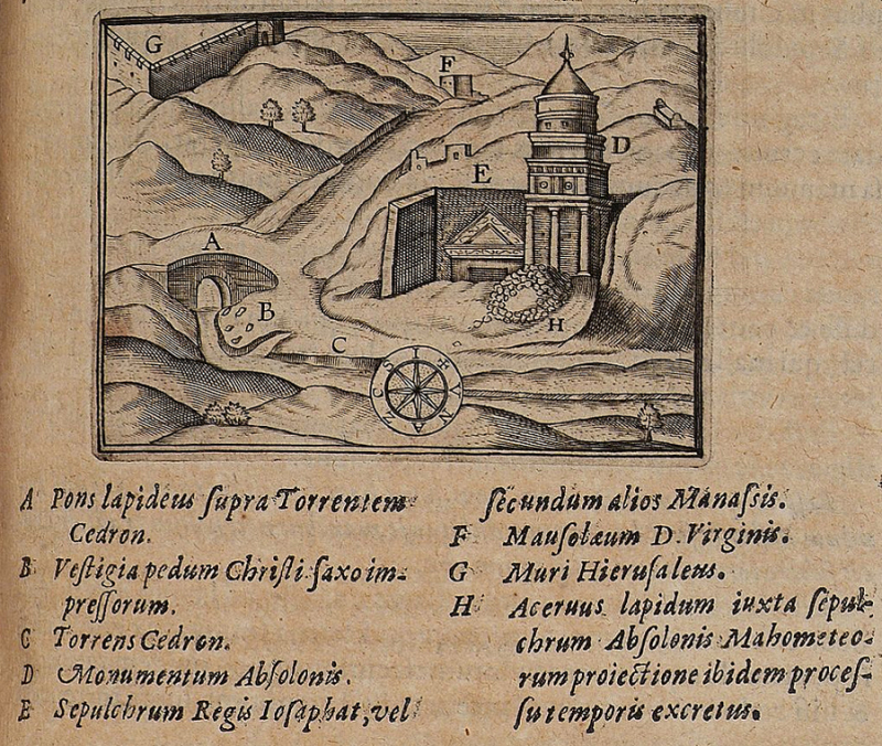 Absalom's tomb Johannes Van Cootwijck  1619