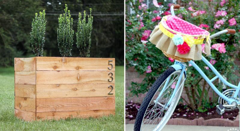Cedar-planter-box-plans DIY-bicycle-basket