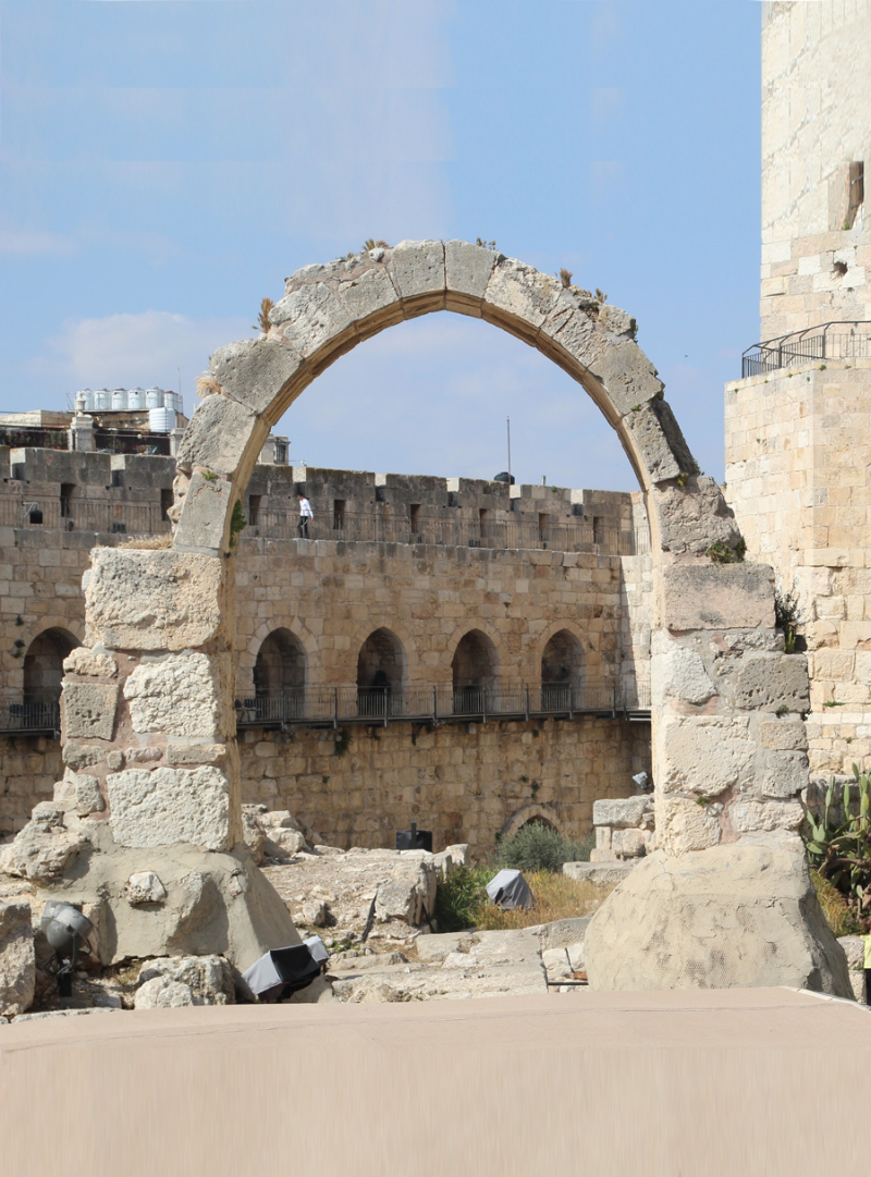 Tower-Of-David-Medieval-Arch