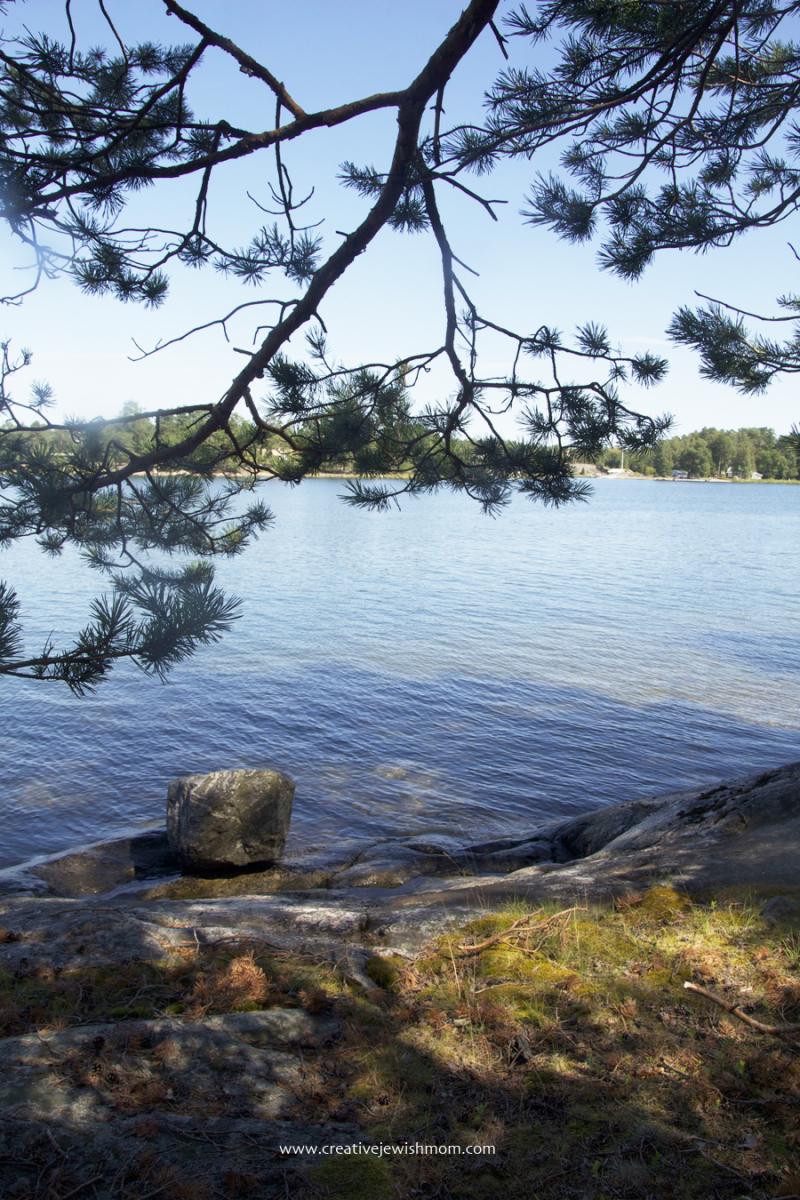 Sweden-summer-varmdo-ramsdalen-swim