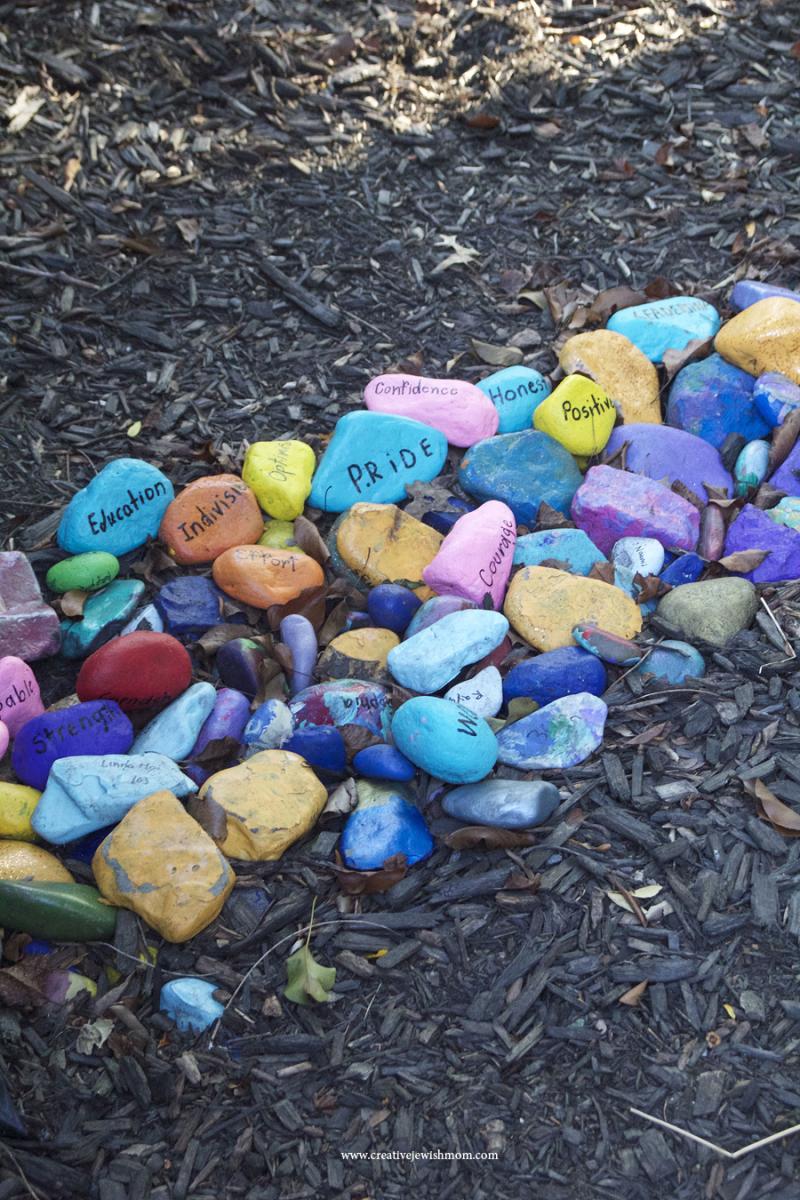Jewish-new-year-rock-garden