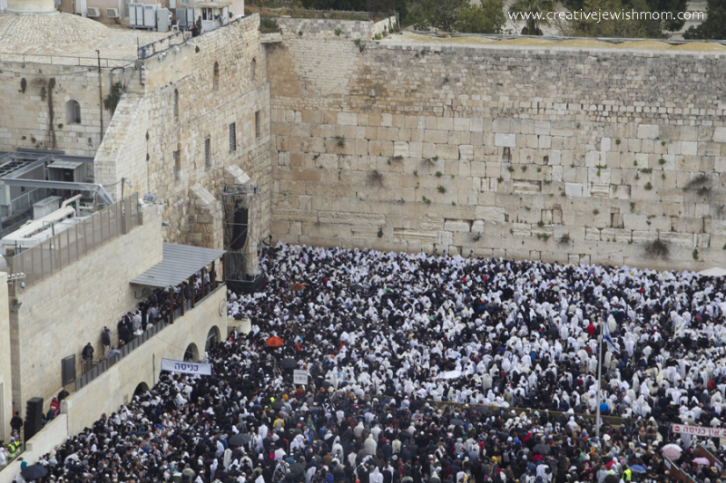 Kotel-blessing-of-kohanim-pesach