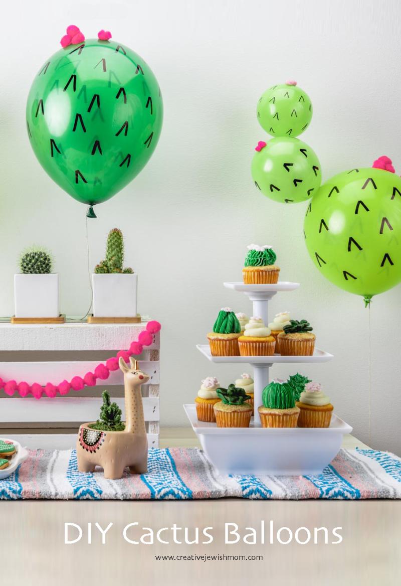 DIY-Cactus-Balloons