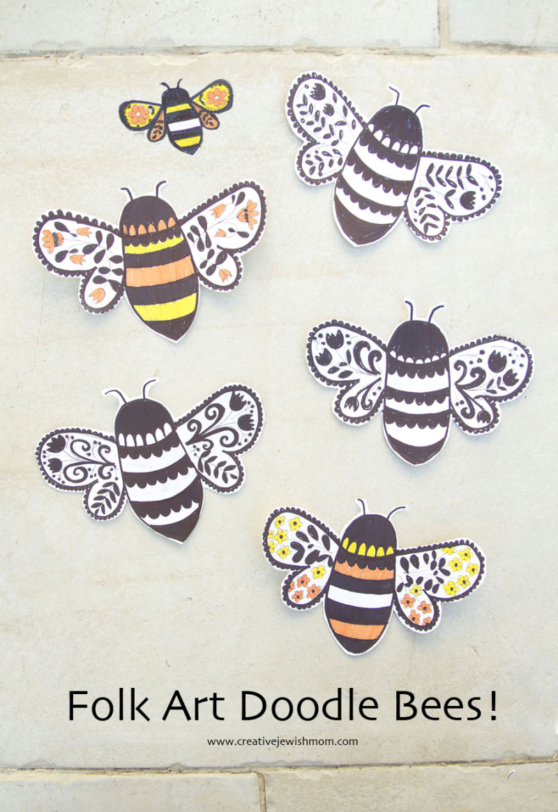 Rosh-Hashana-Bee-Craft