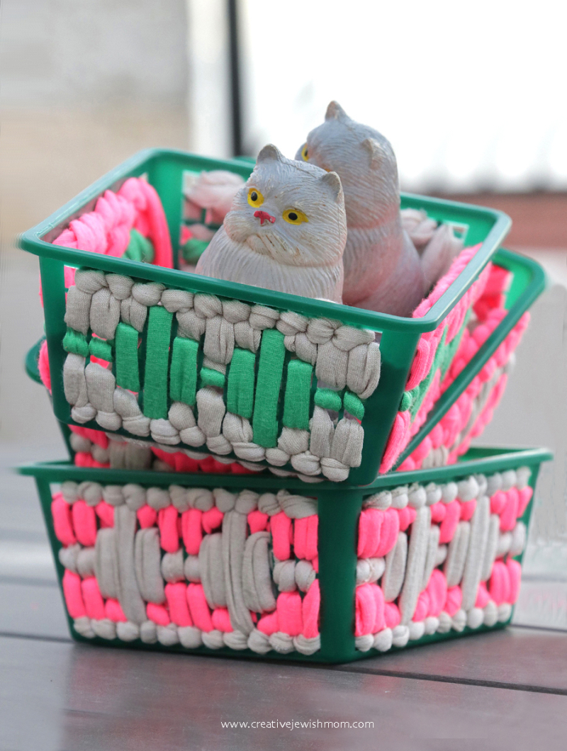 Recycled-berry-basket-craft