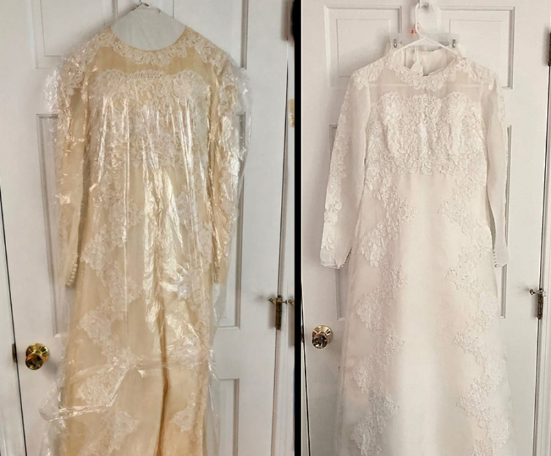 How-to-make-a-yellowed-vintage-wedding-dress-white