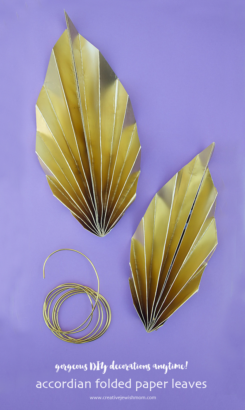 Paper-leaves-succah-decoration