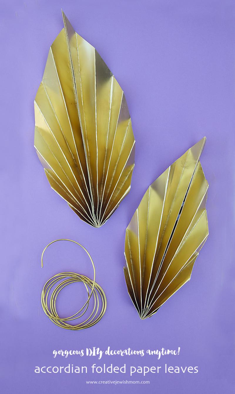 Paper-leaves-succah-decoration