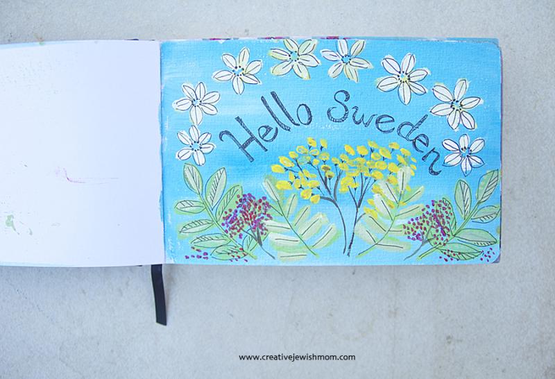 Sketchbook-flowers-sweden