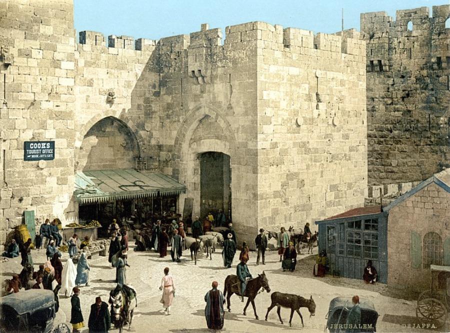 Jerusalem-Jaffa-gate-1900