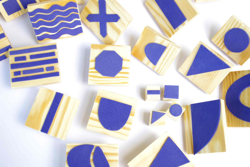 DIY-geometric-craft-foam-stamps