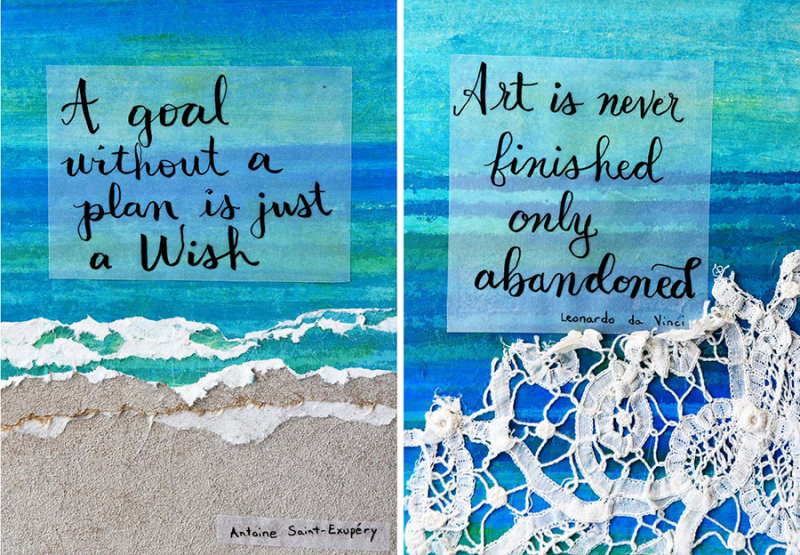 Calligraphy-quotes-on-art-paper