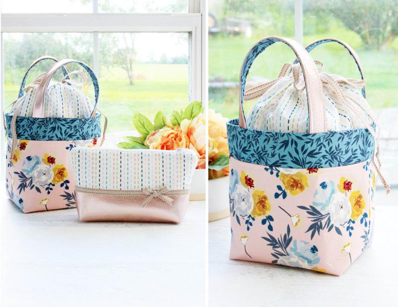 DIY-Floral-bucket-Bag