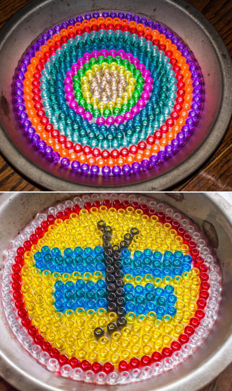 Kid's-craft-bead-Sun-catcher