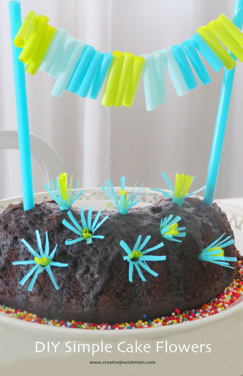 DIY-cake-flowers-plastic