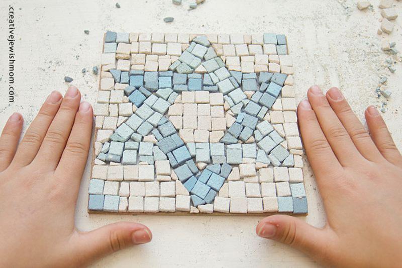 Star-of-david-mosaic