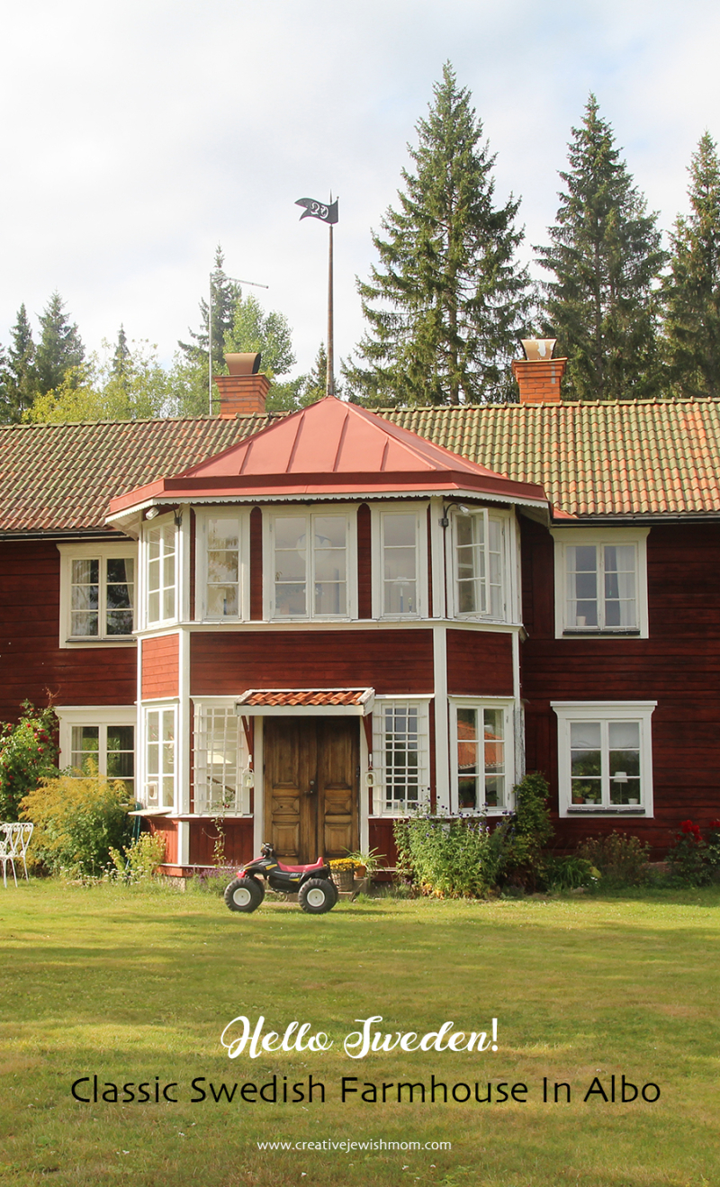 Swedish farmhouse Albo