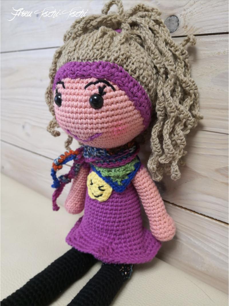 Crocheted dragon stuffie