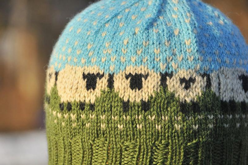 Knit-sheep-hat