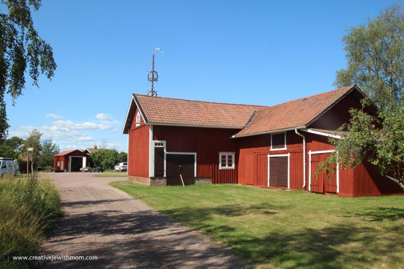 Swedish-Farm-Buildings-Mora