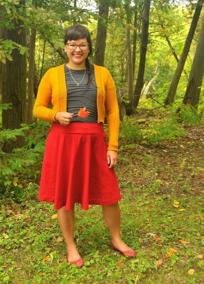 Red-B4686-Skirt-5