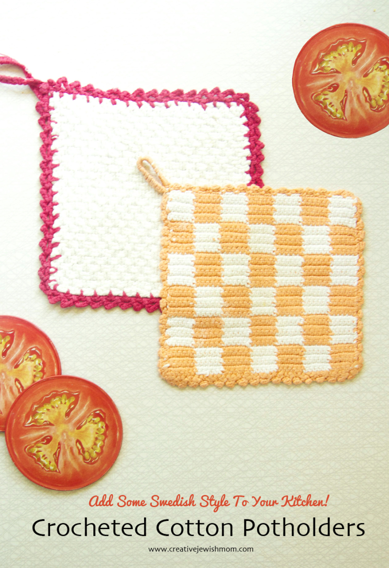 Crocheted-country-style-swedish-potholders
