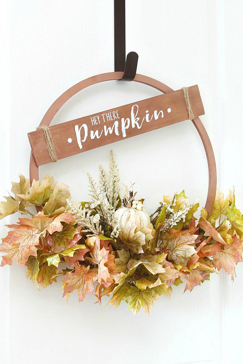 Hey-there-pumpkin-copper-fall-wreath