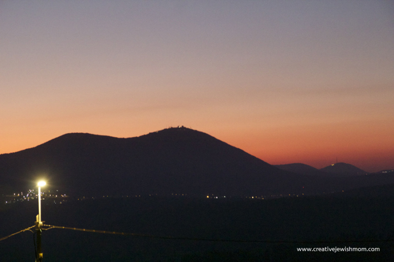 Israel-sunset-over-mount-meron