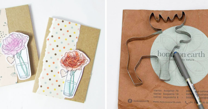 Recycled-paper-bag-craft