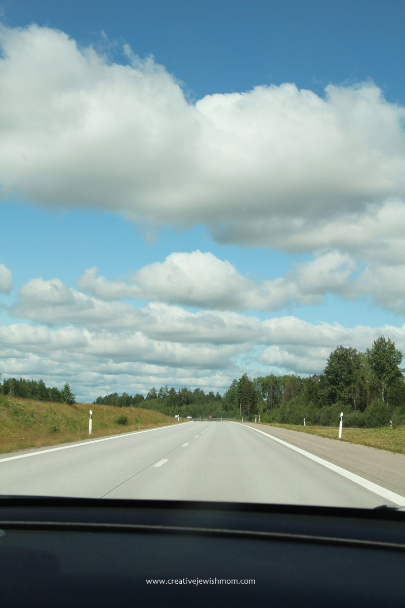 Sweden-country-drive-clouds